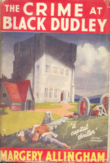 Book cover 'The crime at Black Dudley