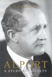 Book cover showing picture of Lord Alport
